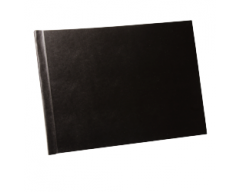 BXT Hard Cover Set Manager Black A4L, 10 sets
