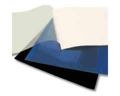 Fastbind executive soft cover A4 leather dark blue, 200 pcs/box