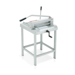 IDEAL 4305 guillotine with stand